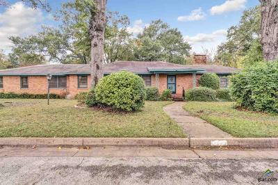 Tyler Single Family Home For Sale: 1727 Baxter Ave