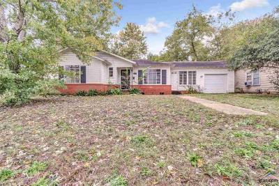Tyler TX Single Family Home For Sale: $130,000