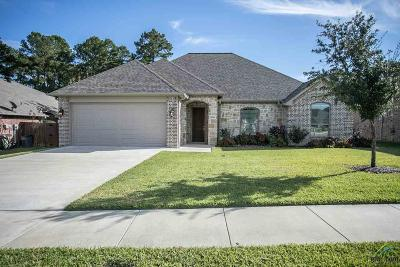 Tyler Single Family Home For Sale: 2242 Pinnacle Circle
