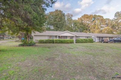 Longview TX Single Family Home For Sale: $134,500