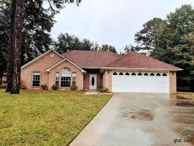 Tyler TX Single Family Home For Sale: $197,000