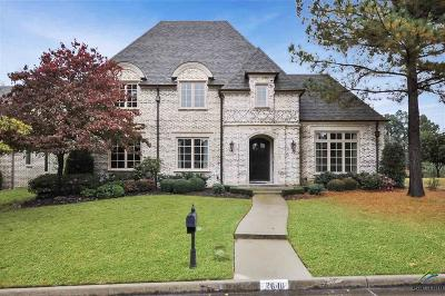Tyler TX Single Family Home For Sale: $670,000