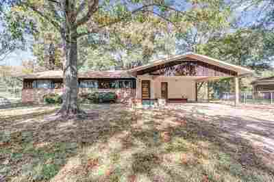 Tyler TX Single Family Home For Sale: $139,500