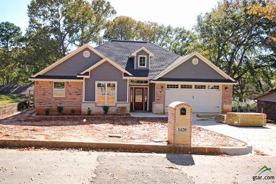 Tyler Single Family Home For Sale: 1420 Bowie
