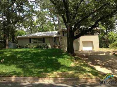 Tyler Single Family Home For Sale: 2816 Bateman