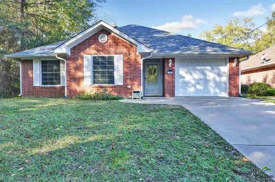 Longview Single Family Home For Sale: 3901 Thomas St