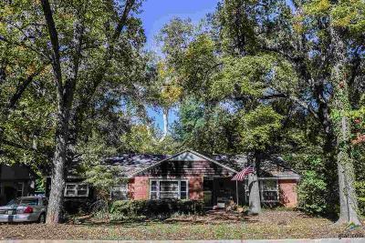 Tyler TX Single Family Home For Sale: $120,000