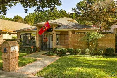 Tyler Single Family Home For Sale: 1165 Garden Park Cir