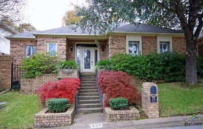 Tyler Condo/Townhouse For Sale: 508 Hyde Park