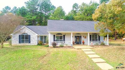 Upshur County Single Family Home For Sale: 5160 Fm 3358