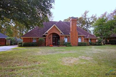 Tyler Single Family Home For Sale: 1408 Woodlands Dr