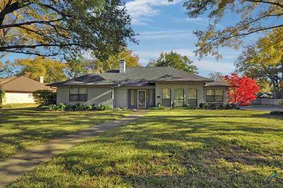Tyler Single Family Home For Sale: 5908 Stoneleigh