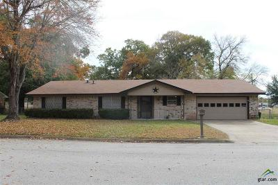 Mineola TX Single Family Home For Sale: $145,500