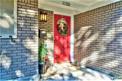 Tyler Single Family Home For Sale: 1120 Shepherd Lane
