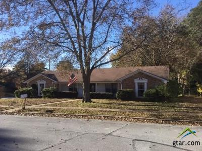 Tyler Single Family Home For Sale: 2907 Jamestown