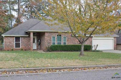 Tyler Single Family Home For Sale: 11926 White Deer Trail