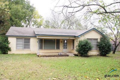 Whitehouse Single Family Home For Sale: 505 E Main St. (Fm 346)