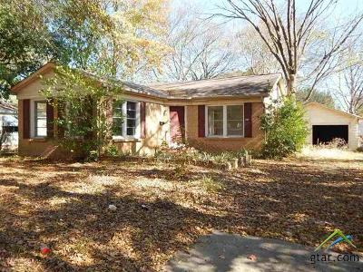 Longview Single Family Home For Sale: 1808 Twelfth