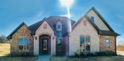 Tyler Single Family Home For Sale: 2959 Guinn Farms Rd.