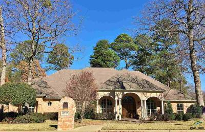 Tyler Single Family Home For Sale: 4055 Stonegate Blvd