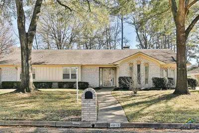 Tyler Single Family Home For Sale: 4812 Picadilly