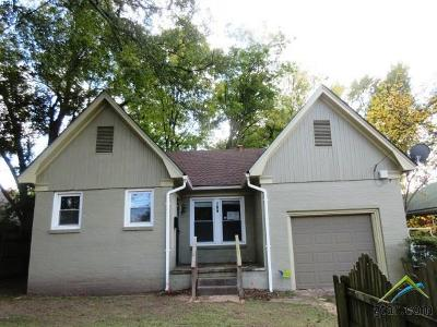 Tyler Single Family Home For Sale: 706 W 2nd Street