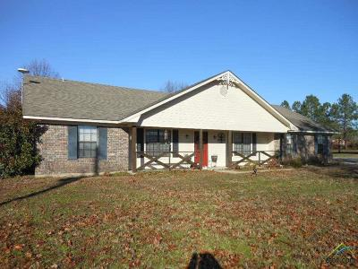Pittsburg TX Single Family Home For Sale: $224,900