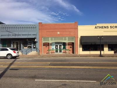 Athens Commercial For Sale: 219 E Tyler Street