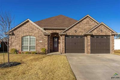 Longview Single Family Home For Sale: 3407 Celebration Way