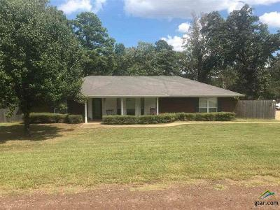 Longview Single Family Home For Sale: 3100 E Carrie Ln