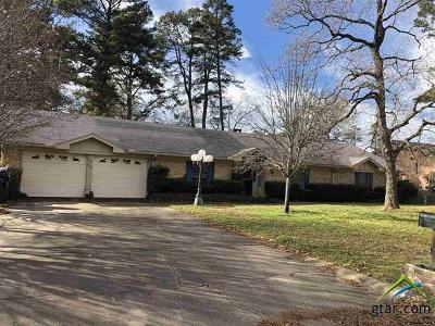 Longview Single Family Home For Sale: 2703 Fleetwood