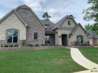Tyler Single Family Home For Sale: 7625 Lakeside Ln