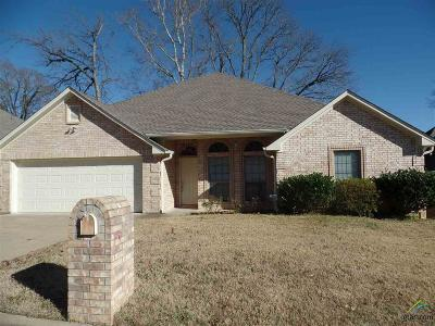 Tyler Single Family Home For Sale: 5716 Thomas Nelson Dr