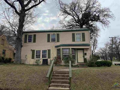 Tyler Single Family Home For Sale: 1016 W Rusk