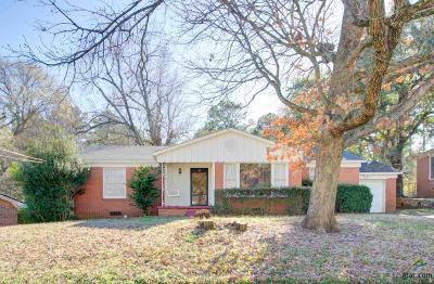 Tyler Single Family Home For Sale: 1204 Graham Drive