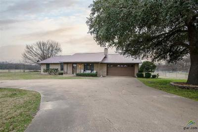 Yantis TX Single Family Home For Sale: $147,000
