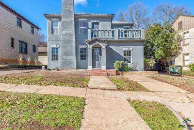 Tyler Single Family Home For Sale: 609 S Bois D Arc