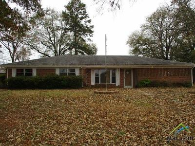 Marshall TX Single Family Home For Sale: $109,500