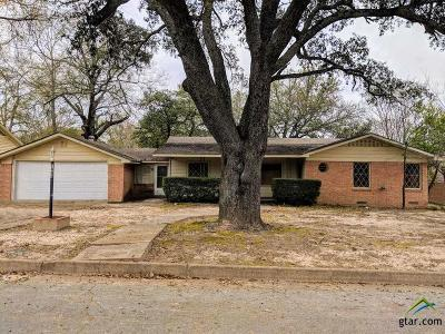Tyler Single Family Home For Sale: 1406 Sunset Dr.