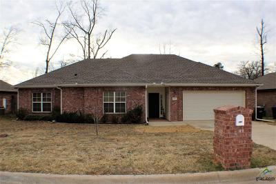 Longview Single Family Home For Sale: 107 Lakeway Lane