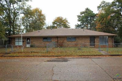 Kilgore Multi Family Home For Sale: 603/605 Bagwell