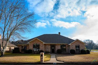 Tyler Single Family Home For Sale: 1310 W Rieck Rd