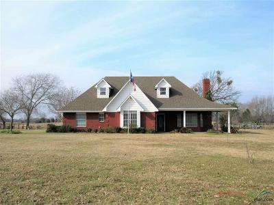 Winnsboro TX Single Family Home For Sale: $275,000