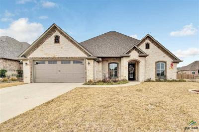 Tyler Single Family Home For Sale: 2312 Pinnacle Circle