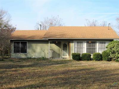 Winnsboro TX Single Family Home For Sale: $145,000