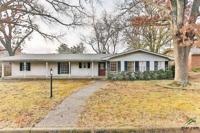 Tyler Single Family Home For Sale: 612 Sherry Lane
