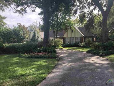 Tyler Single Family Home For Sale: 1109 Troup Highway