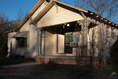 Quitman Single Family Home For Sale: 421 Clark St.