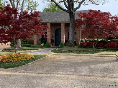 Tyler Single Family Home For Sale: 606 Rosemont Pl.
