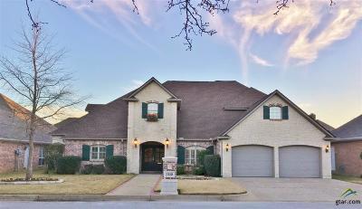 Tyler Single Family Home For Sale: 2110 Dover Ln